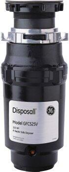 GE™ 1/2 HP Continuous Feed Garbage Disposer - Corded