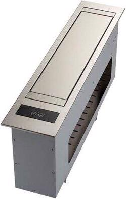 SLOT 21-Inch Stainless Steel Downdraft Built-In Kitchen Ventilation