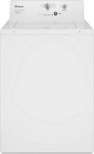 Commercial Top-Load Washer, Non-Vend White