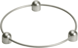 Wok ring attachment for wok pan