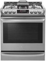 6.3 cu. ft. Smart wi-fi Enabled Gas Single Oven Slide-in Range with ProBake Convection™