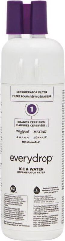 everydrop™ Refrigerator Water Filter 1 - EDR1RXD1 (Pack of 1)