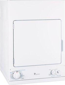 GE Spacemaker™ 240V 3.6 cu. ft. Capacity Stationary Electric Dryer