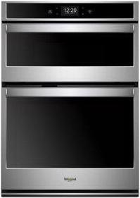 Whirlpool(R) 6.4 cu. ft. Smart Combination Wall Oven with Touchscreen - Black