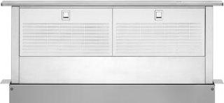 36-Inch Retractable Downdraft System with Interior Blower Motor - stainless_steel