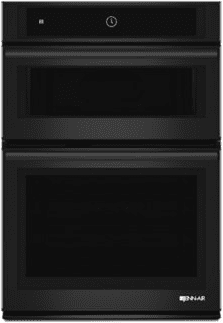 "Black Floating Glass 30"" Microwave/Wall Oven with MultiMode™ Convection System"