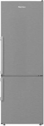 """NEW! 24"""" 12 cuft bottom freezer fridge with full frost free, stainless steel"""