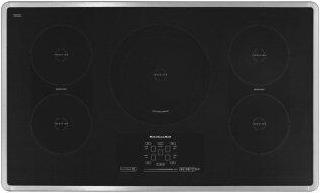 36-Inch 5-Element Induction Cooktop, Architect(R) Series II - Black