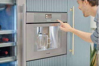Built-in Coffee Machine Stainless steel, Silver TCM24TS