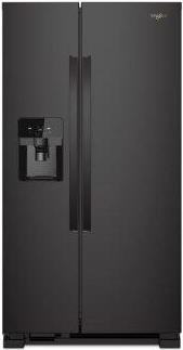 Whirlpool(R) 33-inch Wide Side-by-Side Refrigerator - 21 cu. ft.