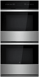 """NOIR 27"""" Double Wall Oven with MultiMode(R) Convection System"""