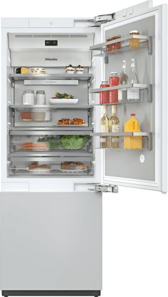 KF 2802 Vi - MasterCool™ fridge-freezer For high-end design and technology on a large scale.