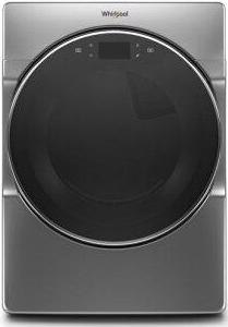 Whirlpool(R) 7.4 cu. ft. Smart Front Load Gas Dryer - Chrome Shadow