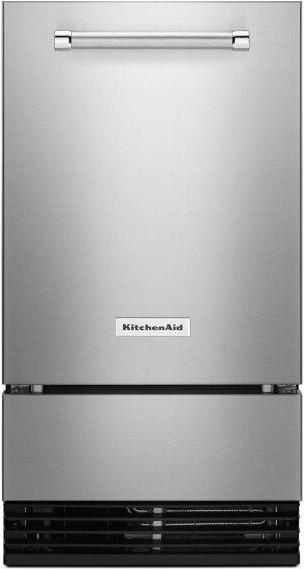 KitchenAid™ 18'' Automatic Ice Maker with PrintShield™ Finish - Stainless Steel with PrintShield™ Finish