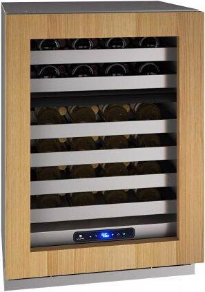 """Hwd524 24"""" Dual-zone Wine Refrigerator With Integrated Frame Finish and Field Reversible Door Swing (115 V/60 Hz Volts /60 Hz Hz)"""