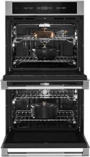 """RISE™ 30"""" Double Wall Oven with V2™ Vertical Dual-Fan Convection"""