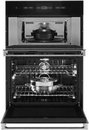 """NOIR™ 30"""" Microwave/Wall Oven with V2™ Vertical Dual-Fan Convection"""