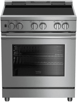 """30"""" Stainless Steel Pro-Style Induction Range"""