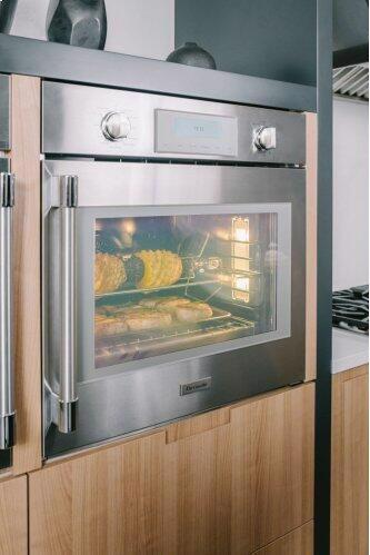 Single Wall Oven 30'' Right Side Opening Door, Stainless Steel POD301RW